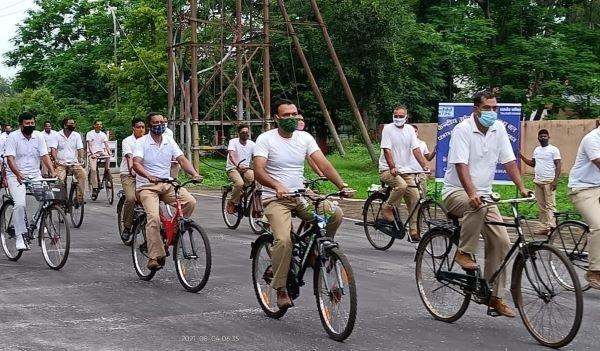 CISF cycle rally to commemorate Azadi ka Amrit Mahotsav – News Riveting